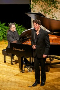 Curt Cacioppo, piano, with baritone Alex Dobson in Winterreise